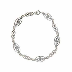 Claddagh & Celtic Bracelet