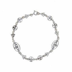 Celtic & Shamrock Bracelet