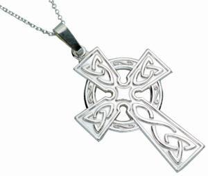 Large Stamped Celtic Cross