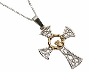 Celtic Cross & 10Ct Claddagh