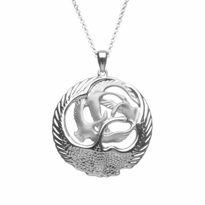 Children Of Lir 4 Swan Pendant