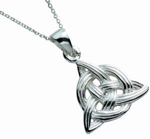 Round Trinity Knot Pendant