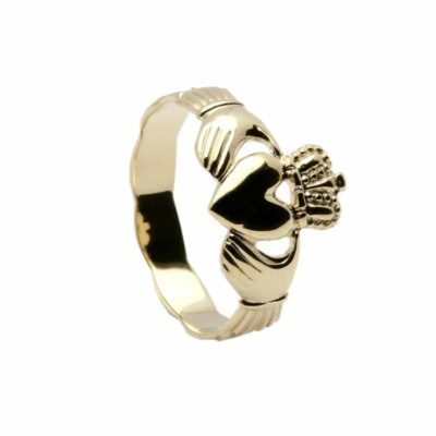 14Ct Yellow Gold Claddagh