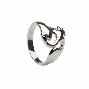 Children Of Lir Swan Ring