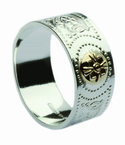 Arda Wide Band Ring Gents