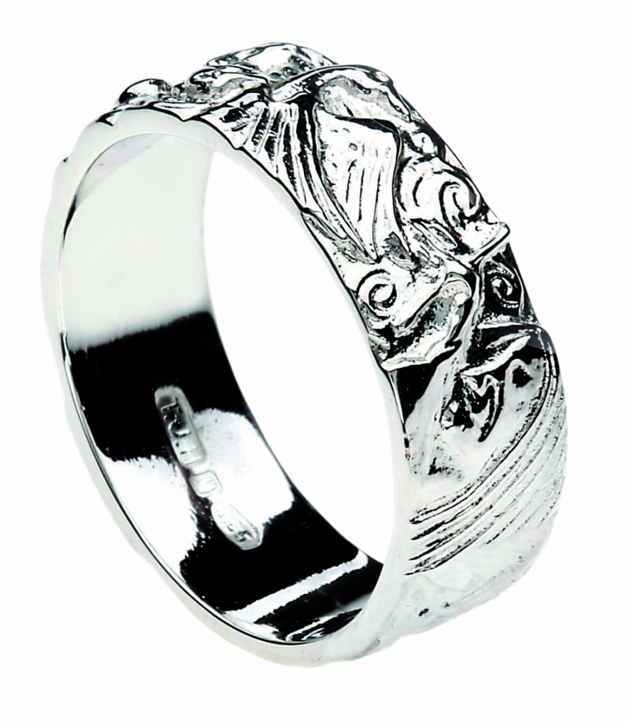 Children Of Lir Story Ring