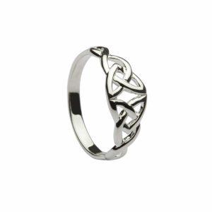 Double Trinity Knot Ring