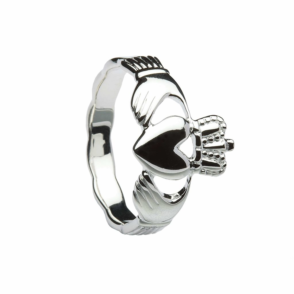 Claddagh With Celtic Shank