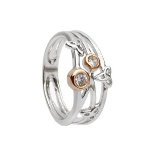 Silver Trinity Ring