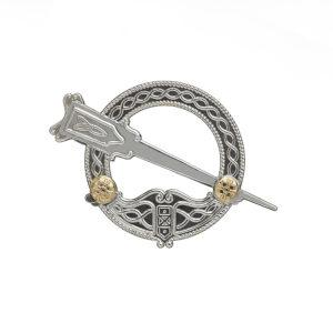 Sterling silver traditional Tara brooch