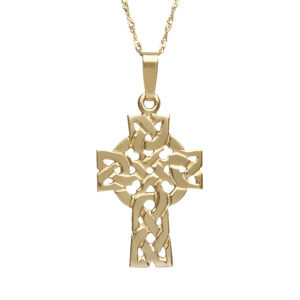 Gold Filigree Celtic Cross