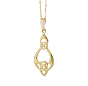 Gold Celtic pendant