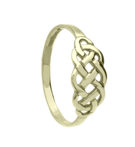 Gold Celtic Design ring