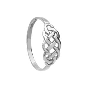 Silver Celtic Ladies Ring