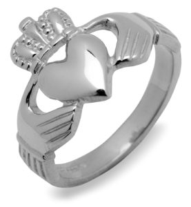 Claddagh Sterling Silver rings
