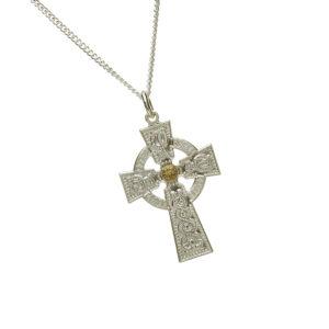 Gents (30MM) Celtic Cross Pendant