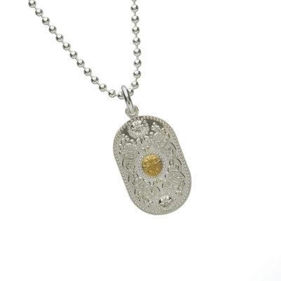Arda Silver Pendant