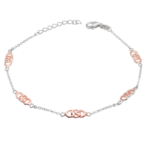 Five Celtic Link Bracelet