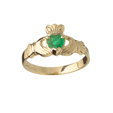 Gold Cloddagh Ring