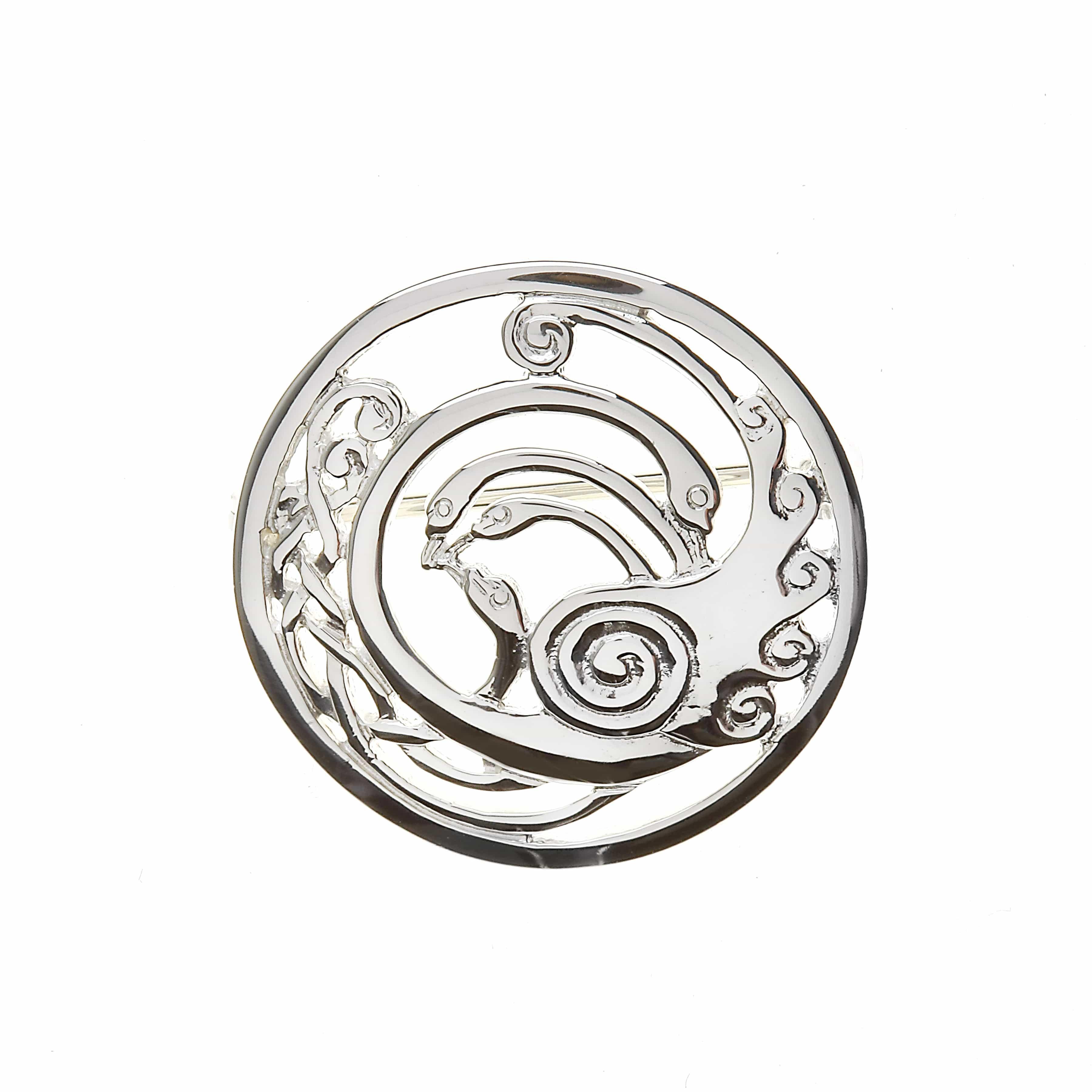 Medium Celtic Knot Swans