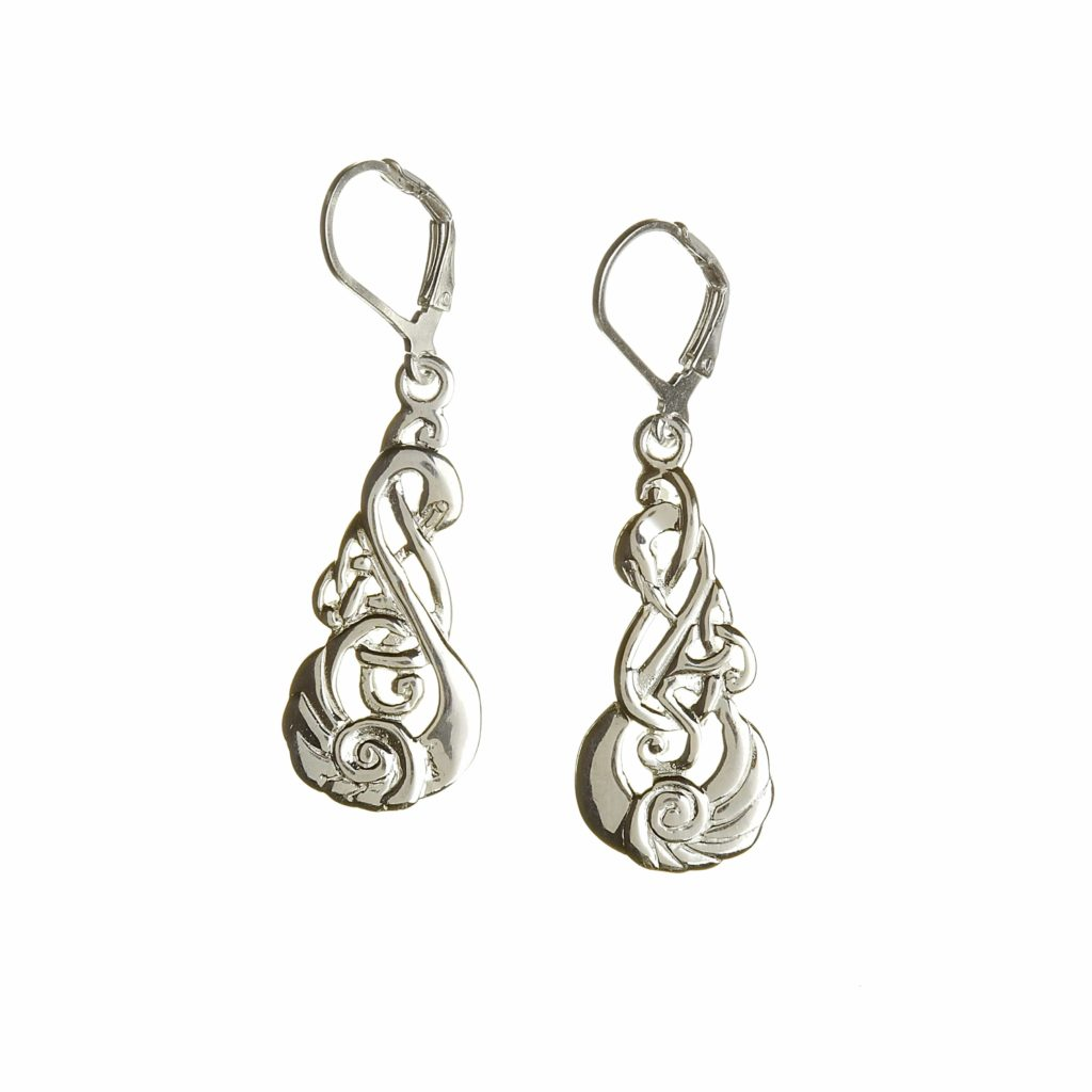 Children Of Lir Drop Earring