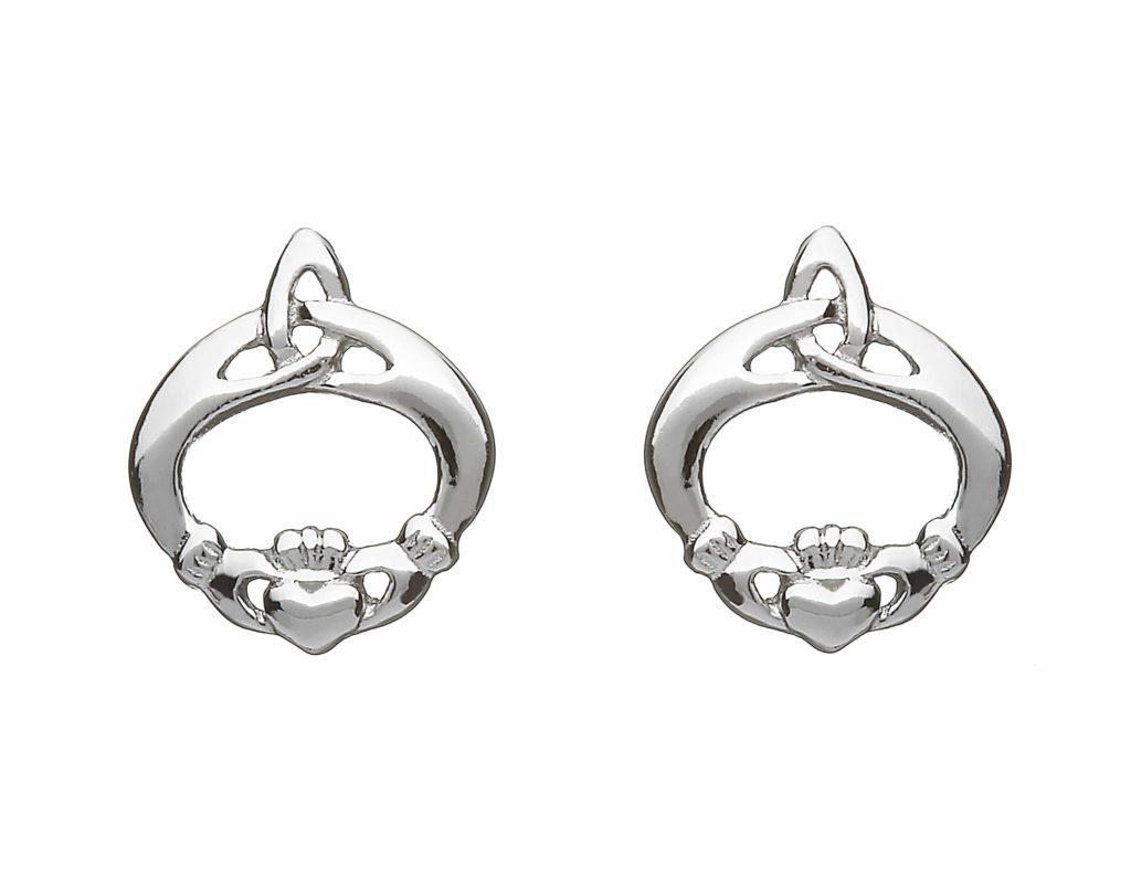 Claddagh & Celtic Knot Studs