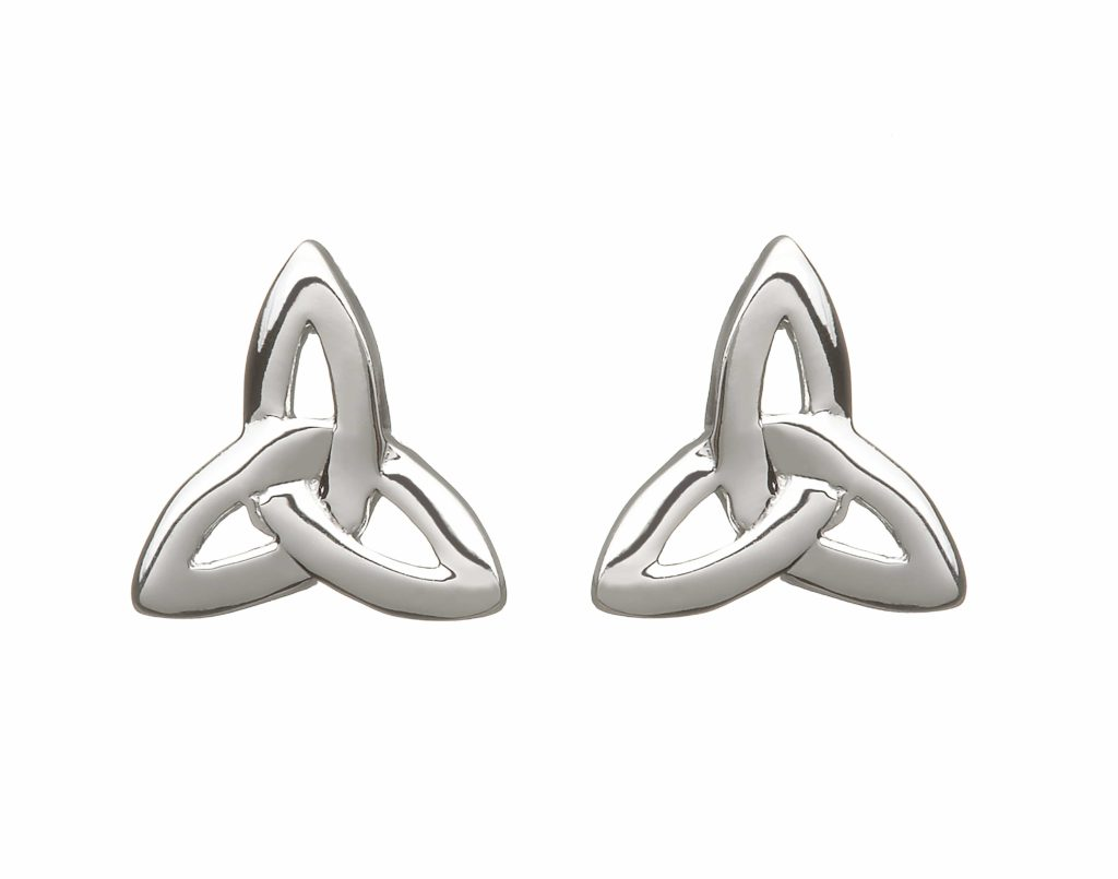 Silver Tinity Knot Earrings