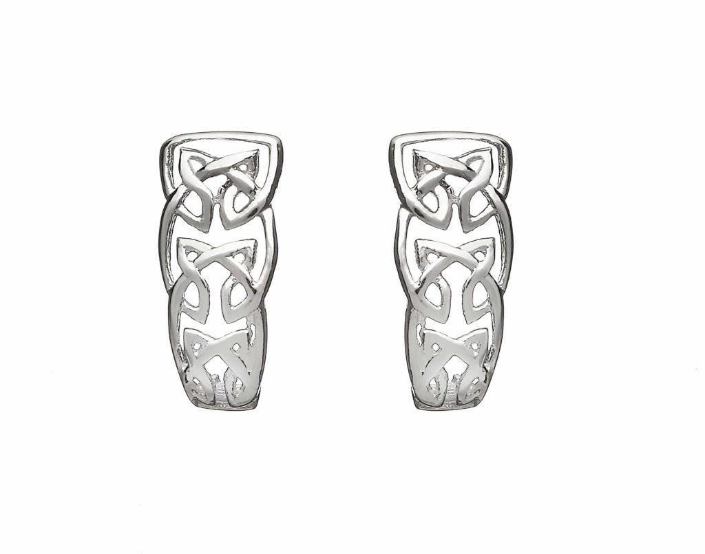 Celtic Knot Lever Earrings
