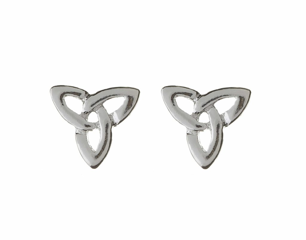 Trinity Knot Stud Earrings