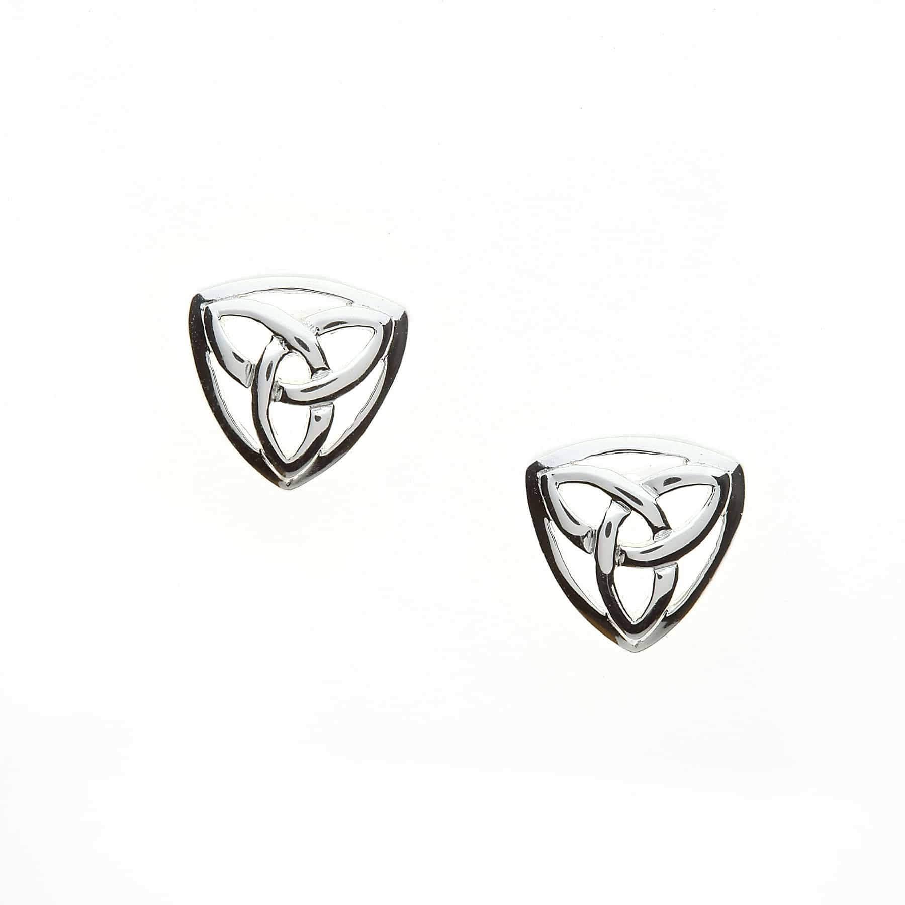 Small Triangle Trinity Studs