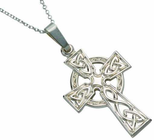 Classic Stamped Celtic Cross