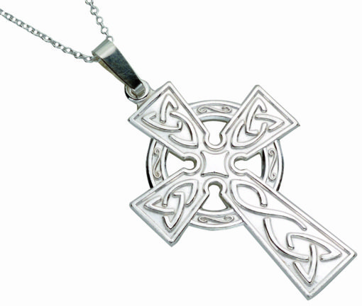 Large Stamped Celtic Cross