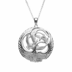 Children of lir pendants archives celtic designs jewelry children of lir 4 swan pendant aloadofball Gallery