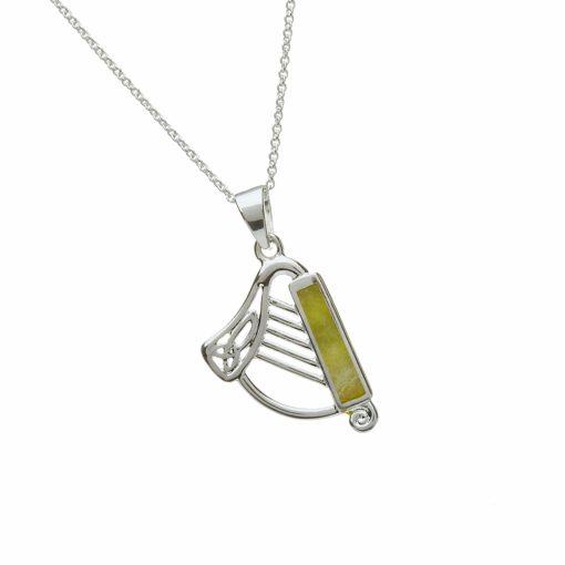 Harp With Connemara Marble
