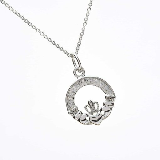 Small Cz Set Pendant