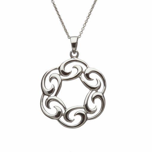 Sterling silver celtic pendant aloadofball Choice Image