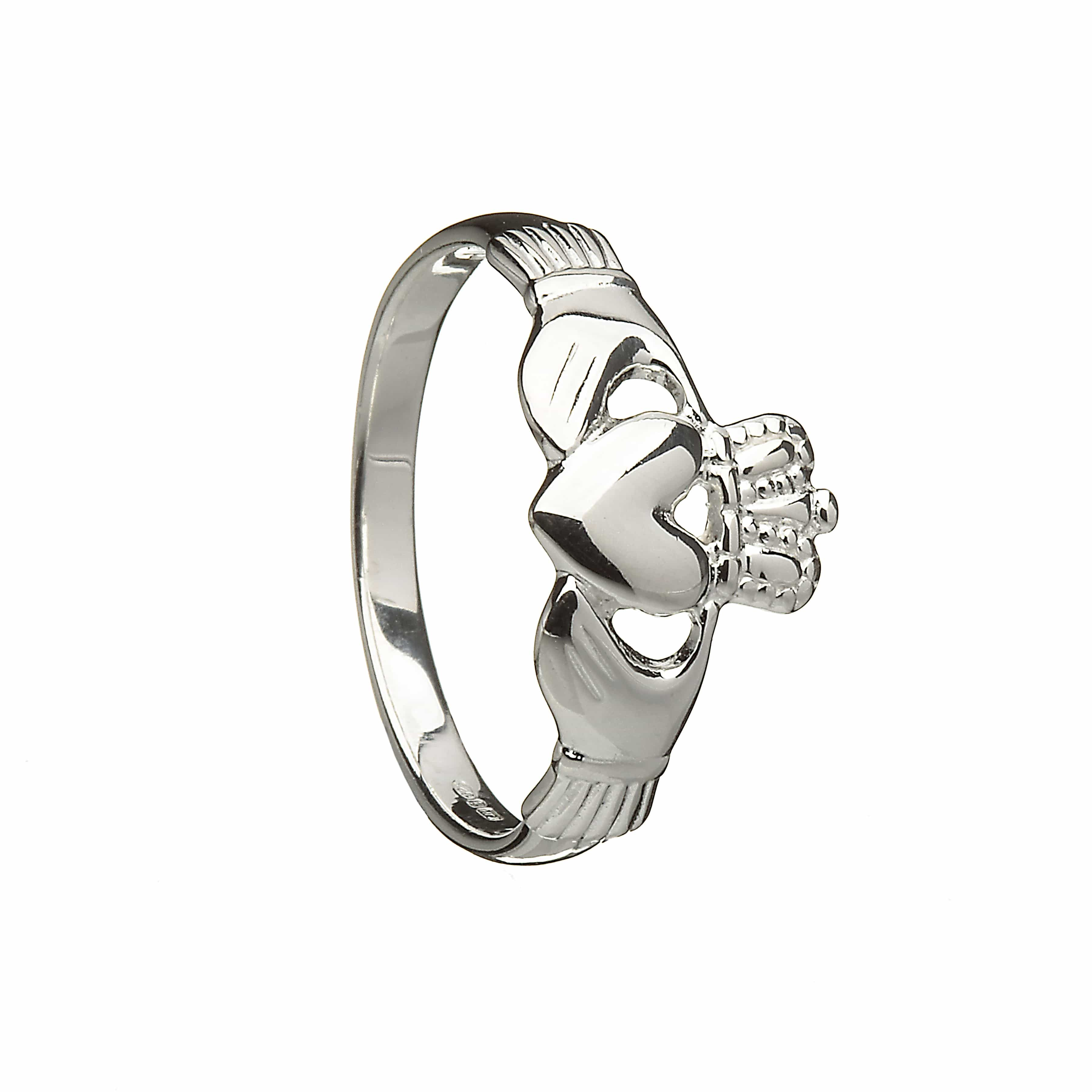 New Engraved Claddagh