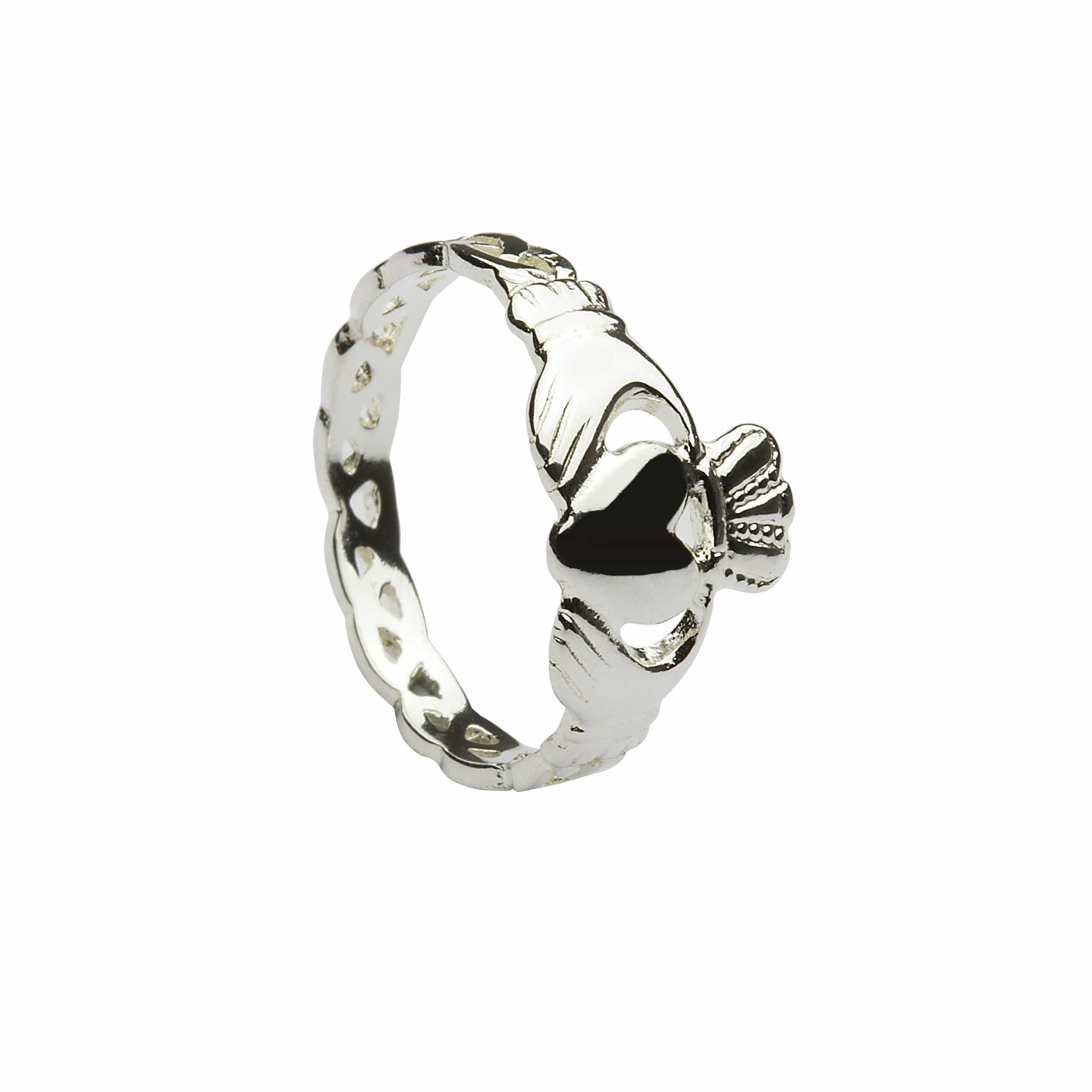 Claddagh With Knotted Shank