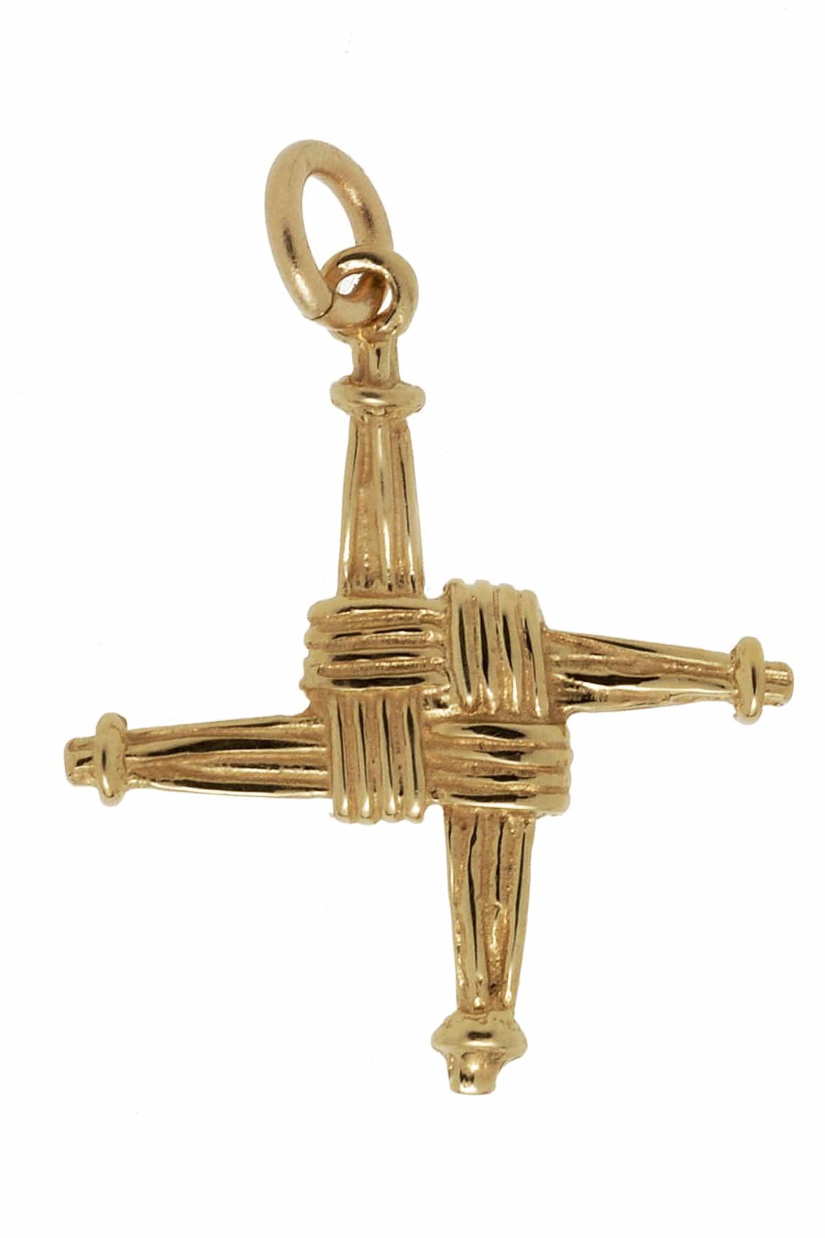 10Kt St. Brigids Cross Charm