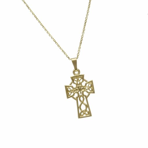 10Ct Filigree Celtic Cross