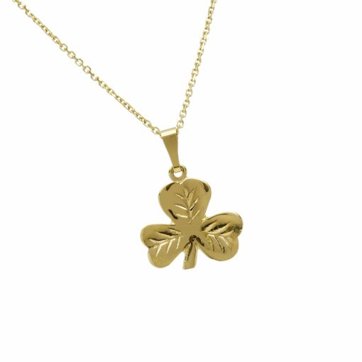 10Ct Solid Shamrock