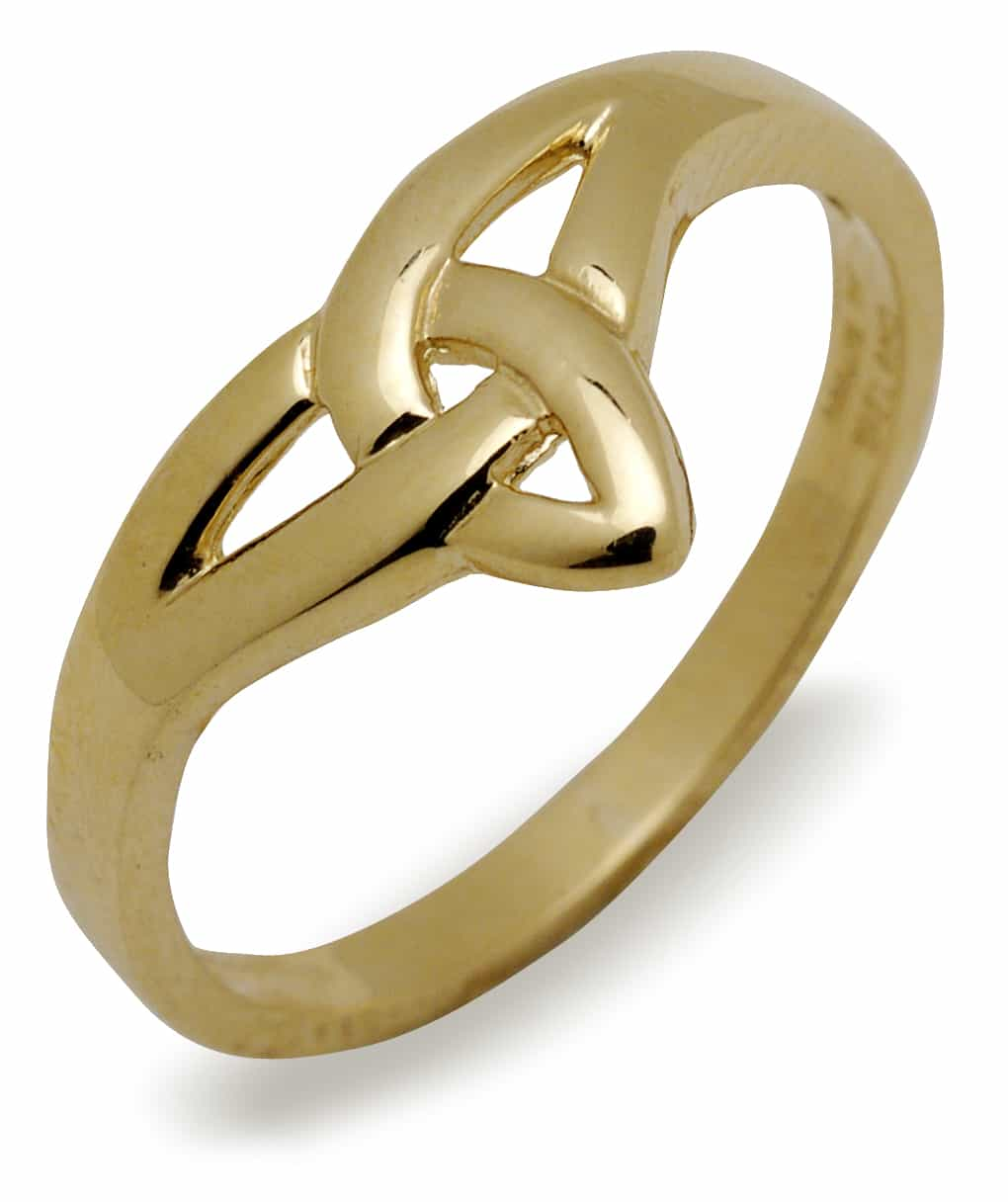 10Ct Trinity Knot Ring