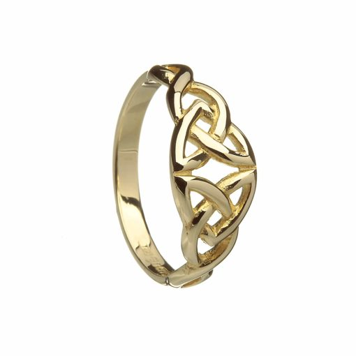 10Ct Double Trinity Knot Ring