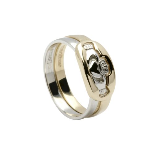 10Kt 2-Part Claddagh Ring