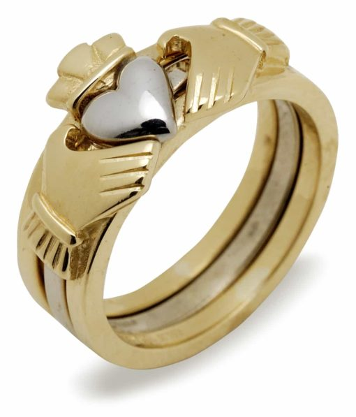 10Kt 2-Part Claddagh