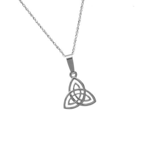 product gizzintx steel knot inverted by stainless printed pendant large triquetra celtic